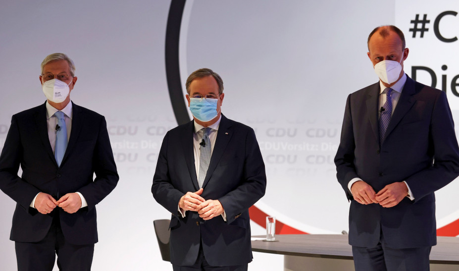 Γερμανία: Τρεις υποψήφιοι, ένας στόχος - Αυτοί θέλουν να γίνουν «διάδοχοι» της Μέρκελ